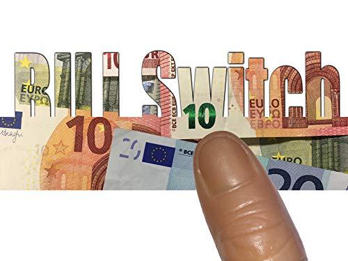 50 Euro Bill Switch - Wie man einen Geldschein verwandelt | Geld-Zaubertrick für Erwachsene | Zauberei mit Banknoten | Magic Money Change | Zauberartikel, zaubern lernen, Geldscheinverwandlung
