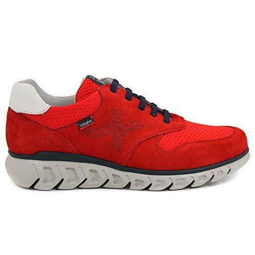 CALLAGHAN 12912 Squalo, Sneaker Uomo (44 EU, Rosso)
