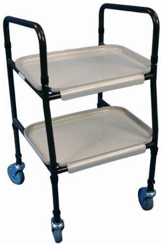 Aidapt VG798 Strolley Tablettwagen höhenverstellbar zum Zusammenbauen