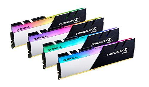 G.SKILL 32GB Trident Z Neo DDR4 3800MHz PC4-30400 CL14 RGB Quad Channel Kit (4X 8GB)