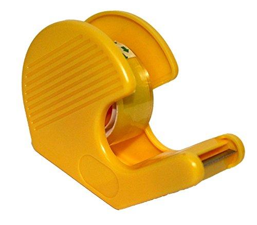 Acan Dispensador de celo con Rollo pequeño en Color Amarillo
