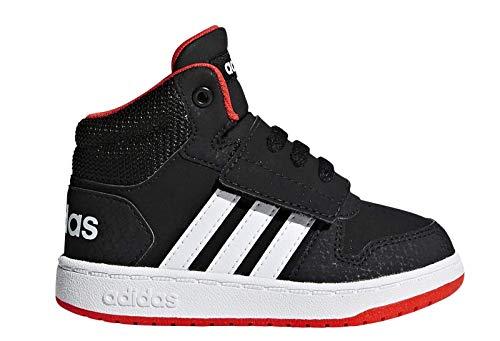 adidas Unisex Kinder Hoops MID 2.0 I Fitnessschuhe, Schwarz (Negro 000), 26 EU