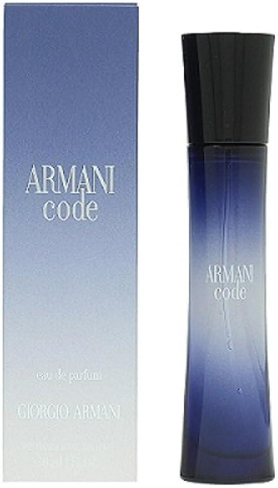 Armani code,eau de parfum per donna ,30 ml 3360375004049