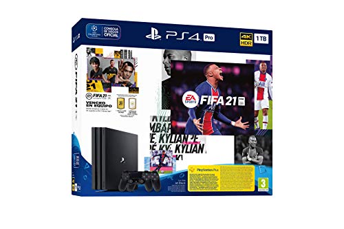 PlayStation 4 - PS4 Pro + FIFA 21 + DS4
