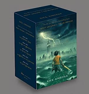Percy Jackson & the Olympians Boxed Set[BOXED-PERCY JACKSON & OLYMP-5V][Boxed Set]