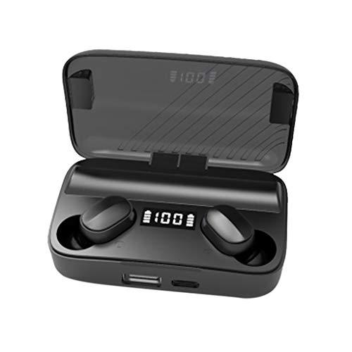A9 Drahtlose Bluetooth V5.0 Drahtloser Kopfhörer Kopfhörer 6D Stereo-Mikrofon Sportkopfhörer