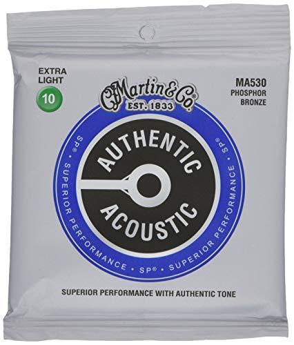 Martin Authentic Acoustic NUOVA VERSIONE Extra Light (10-47) Bronzo fosforoso.
