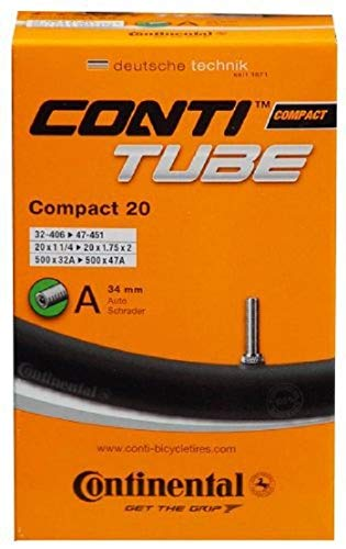 Continental Compact Tubes, Parti della bici Unisex-Adult, Other, [32-406-47-451]