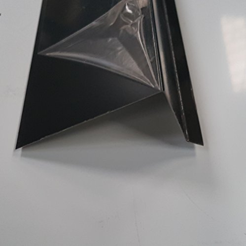 Pultdach 200 cm ( 2000mm) lang Aluminium anthrazitgrau RAL7016 Dachprofil 90 Grad Dichtungsblech Dachblech Kantblech (Z:250mm/ a:15mm+b:140mm+c:80mm, alu anthrazit RAL 7016)