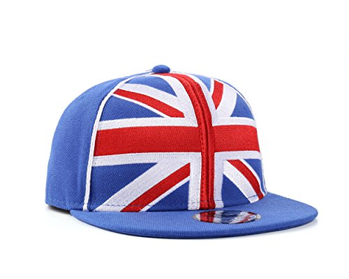 UNDERGROUND KULTURE Union de Grande Bretagne Casquette de Baseball Jack Blue Snapback