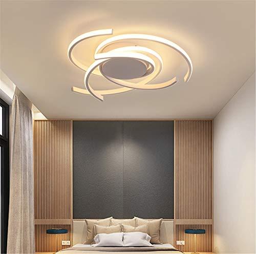LED Schlafzimmerlampe Wohnungs Deko Dimmbar Deckenleuchte mit Fernbedienung Esstischlampe Esszimmerlampe Wohnzimmerlampe Deckenlampe Modern Designer Flur Decke Pendelleuchte Chic Bad Kücher Lampen