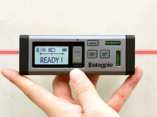The World's First Bilateral Laser By Magpie Tech: VH-80 Laser Distance Measurer With Multiple Measurement Units – Multifunctional Measuring Device For Fast, Precise & Professional Results – 262ft/80m