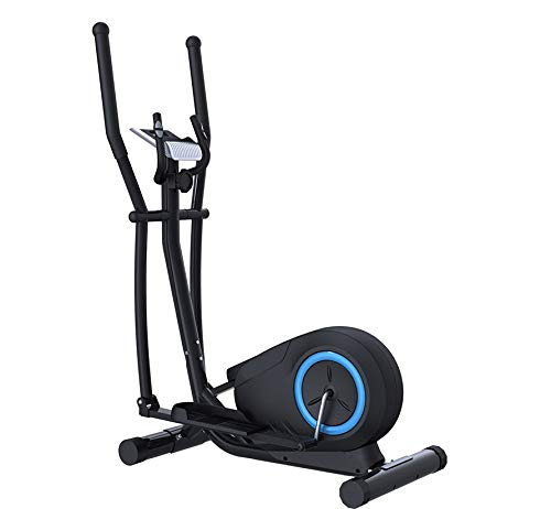 AJH Home Cross Trainer, eliptical machines, 8 Level Magnetic Resistance, Cardio Workout, 10KG Two Way Flywheel, Console Display with Tablet Holder,Black
