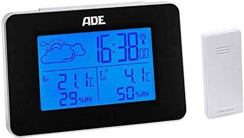 ADE WS 1711 Funk-Wetterstation Vorhersage für 12 bis 24 Stunden