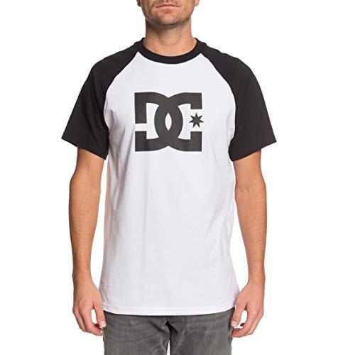 DC Shoes Star tee Camiseta, Hombre, Blanco (Snow White/Black), S