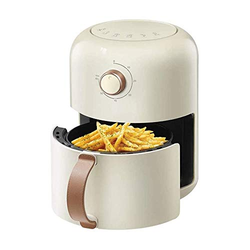 ZOUJIARUI Electric Air Fryer + Oven Cooker With Temperature Control,Non Stick Fry Basket,Auto Shut Off Feature, 2 Qt