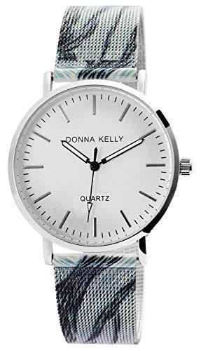 Donna Kelly Damen-Uhr Mesharmband Edelstahl mehrfarbig Analog Quarz 1300020