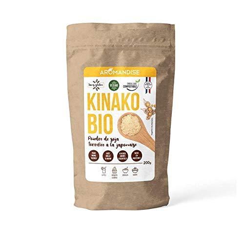Polvo de soja tostado Kinako 200 g