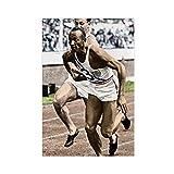 Jesse Owens Leichtathleten-Kunstdruck, Vintage-Kunst,