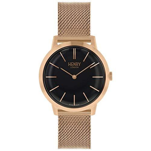Henry London HL34-M0234-cr - Reloj de Pulsera Mujer