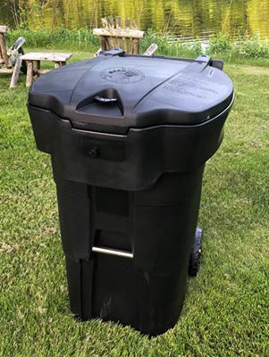 65 Gallon Bearicuda Stealth Bear-Resistant Garbage Can