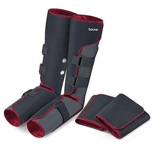 Beurer FM 150 Pro Venen Trainer, Bein-Massage-Gerät mit Luftdruckmassage, elektrisches Venenmassagegerät bei Verspannungen und schweren Beinen, mit Oberschenkelmanschetten