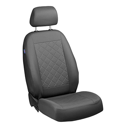 Zakschneider T3 Fahrer Sitzbezug - Farbe Premium Grau