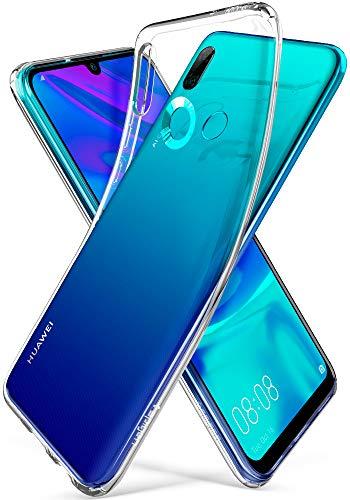 Spigen, Funda para Huawei P Smart 2019 / Honor 10 Lite, [Liquid Crystal] Protección Delgada de Gel Silicona y claridad Premium de TPU [Compatible con Carga Inalámbrica] - [Trasparente]