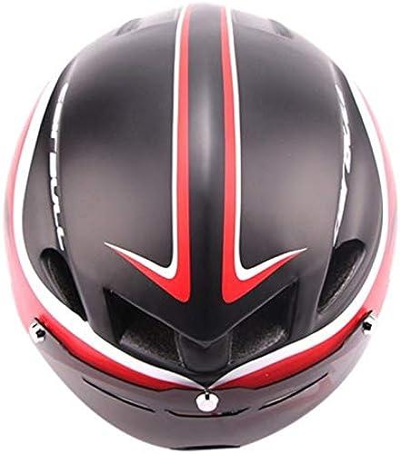 BTAWM Helmets Schutzbrille TT Helm Rennrad Ultraleichter Reithelm fürradzubeh