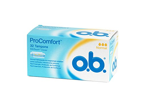 OB - Tampones Digital Normal Sin Aplicador 32 Procomfort