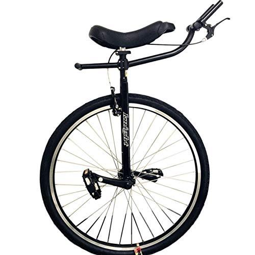 ALBN Monociclo Monociclo per Adulti Resistente per Persone di Statura Alta da 160 a 195 cm (63'-77'), Ruota da 28 Pollici, Monociclo Nero Extra Large, Carico 150kg / 330Lbs