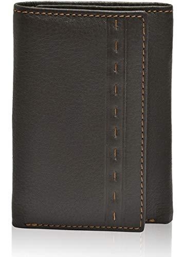 Designer Wallets for Men - Leather Slim Front Pocket RFID Secured Trifold Wallet…