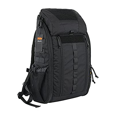 EXCELLENT ELITE SPANKER Medical Backpack Tactical Knapsack Outdoor Rucksack Camping Survival First Aid Backpack(Black) from EXCELLENT ELITE SPANKER