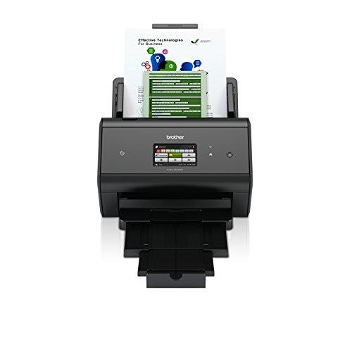 Brother ADS-3600W (Dokumentenscanner mit LAN und WLAN) schwarz