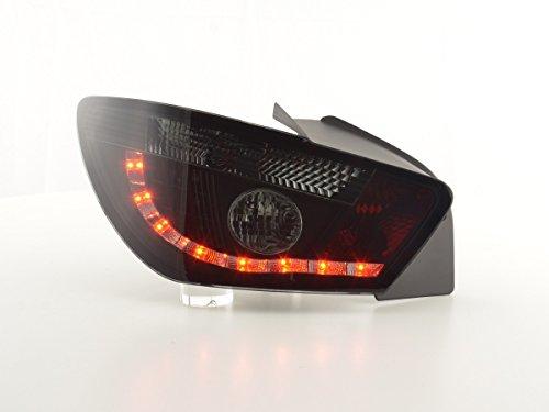 Achterlichten LED Seat Ibiza 3-deurs (6J) bouwjaar 08-12, zwart