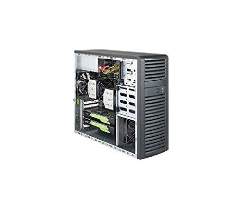 スーパーマイクロシステム SYS-7039A-I ミッドタワー XEON LGA3647C621 MAX.2TB 4X3.5インチ 2X5.2