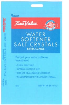 True Value, 40 LB, 34908 Extra Coarse Water Conditioning Salt Crystals