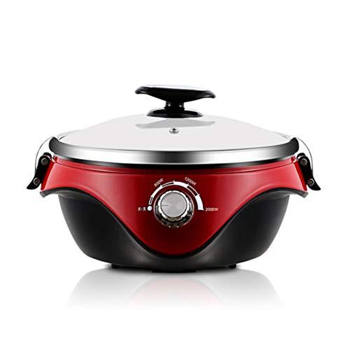 DYXYH Feu électrique Hot Pot ménages multi-fonction 304 Prise en acier inoxydable Marmite électrique Hot Pot de grande capacité Separated