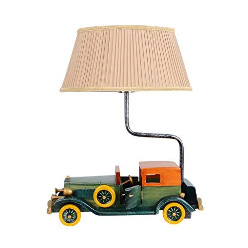 Creative Classic Car Lampe De Table Décoration Chambre D'enfant Lampe De Table Garçon Chambre Personnalité De Chevet Lampe De Table LED Lampes Cartoon