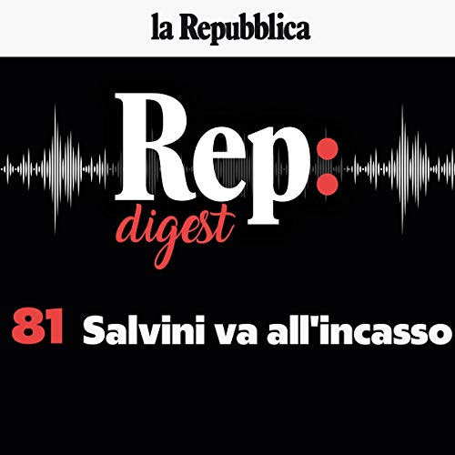 Couverture de Salvini va all'incasso