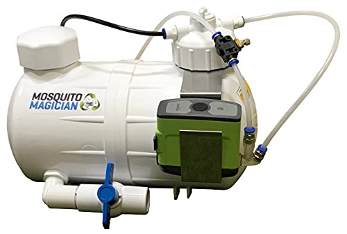 Mosquito Magician Automated Mosquito Treatment System with 1 Gall Natural Mosquito Killer & Repellent Concentrate