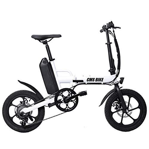 Bicicleta Plegable Bicicleta Eléctrica Electric City, con 250W De Motor 13 Ah...