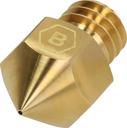BROZZL MK8 - Ugello in ottone, diametro 0,1 mm, per stampanti 3D