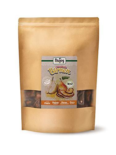 Biojoy Peras desecadas BÍO sin azúcar añadido y óxido de azufre (0,5 kg)