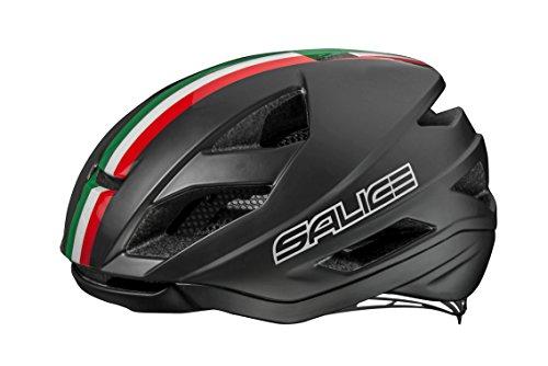 Salice Nero Italia, Casco Bike TG. 52-58 Unisex Adulto
