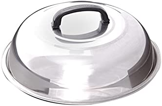Blackstone Signature Griddle Accessories - 12 Inch Round Basting Cover - Stainless Steel - Cheese Melting Dome and Steaming Cover - Best for Use in Flat Top Griddle Grill Cooking Indoor or Outdoor