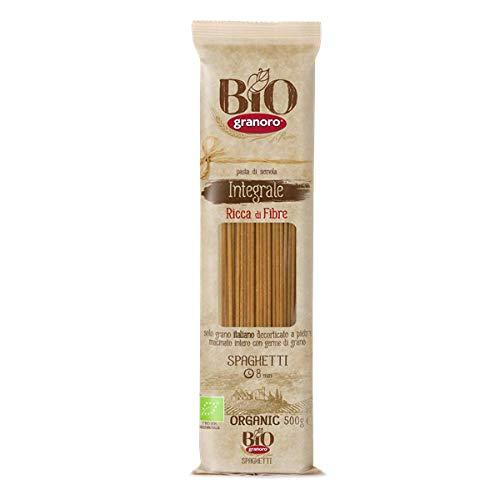 Granoro - Spaghetti complètes bio n°12BI 500GR - Produit artisanal italien
