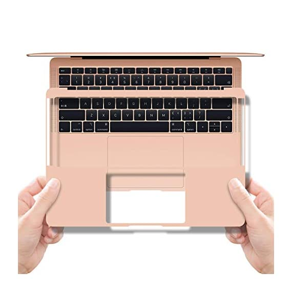 Palm Rest Cover Skin and Trackpad Protector Compatible with 2019 2018 MacBook Air 13-Inch Model A1932 with Touch Id… 1 Specially Design For 2016 2017 2018 2019 Released MacBook Pro 15 with touch bar model A1707 A1990 Prevent your new MacBook to avoid scratches by watch, buckles, jewelry and other metal objects Airflow Design, easy to uase with no bubble, renew the worn-out palm rest, It's a great way to update your worn-out palm rest with a different fresh new look