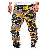 N\P Hombres Pantalones Casuales Hombres Sportswear Chándal de chándals Fondos