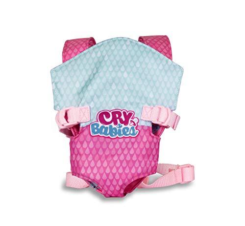 IMC Toys 90019IMEX BEBÉS LLORONES PORTABEBÉS Cry Babies Puppentrage draagtas, kleurrijk, Talla unica